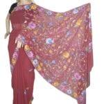 Adhrit Creations Hand Work Designer Sarees Hand Embroidery #12138570