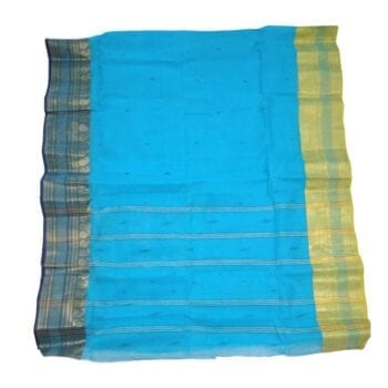 Adhrit Creations Tant Cotton Saree #49820779