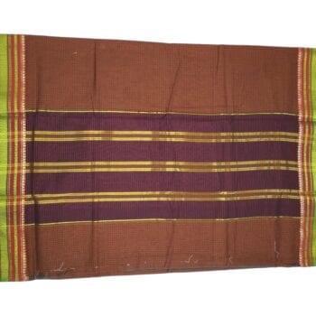Adhrit Creations Gadwal Cotton Saree #29861828