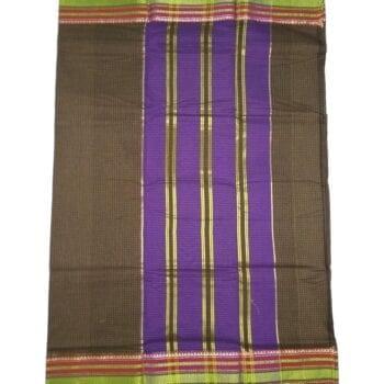 Adhrit Creations Gadwal Cotton Saree #31602502