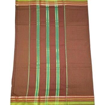 Adhrit Creations Gadwal Cotton Saree #15511104
