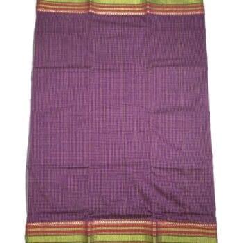 Adhrit Creations Gadwal Cotton Saree #67024286