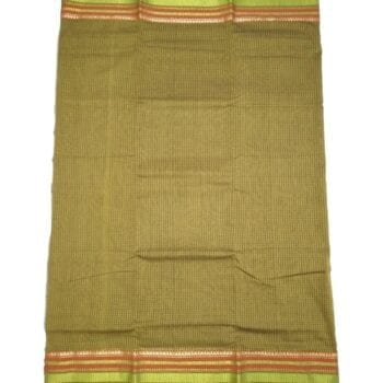 Adhrit Creations Gadwal Cotton Saree #44681011