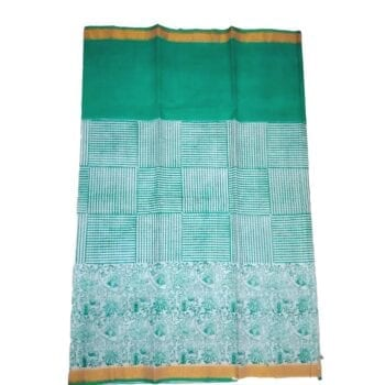 Adhrit Creations Printed Malmal Cotton Saree #42886045