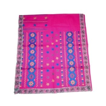 Adhrit Creations Embroided Cotton Saree #63251109