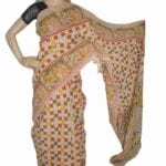 Adhrit Creations Cotton Printed Kalamkari Saree #52589235