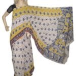 Adhrit Creations Cotton Printed Kalamkari Saree #62029574