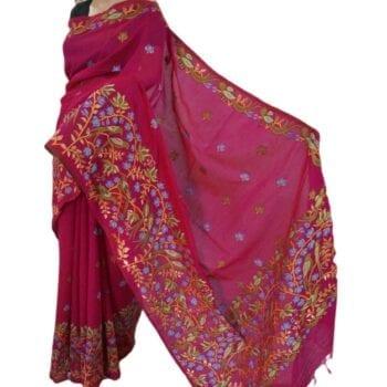 Adhrit Creations Handloom Silk Handloom Saree #45638790
