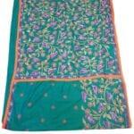 Adhrit Creations Hand Work Designer Sarees Hand Embroidery #17251007