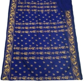 Adhrit Creations Hand Work Designer Sarees Hand Embroidery #84832110
