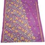 Adhrit Creations Hand Work Designer Sarees Hand Embroidery #32842709
