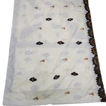 Adhrit Creations Hand Work Designer Sarees Hand Embroidery #80929846