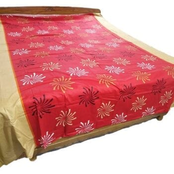 Adhrit Creations Double Bed Sheet Size 108 108 #16059938