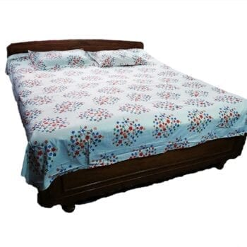 Adhrit Creations Double Bed Sheet Size 108 108 #20982472