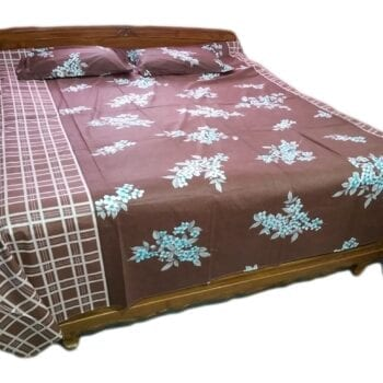 Adhrit Creations Double Bed Sheet Size 108 108 #94851199