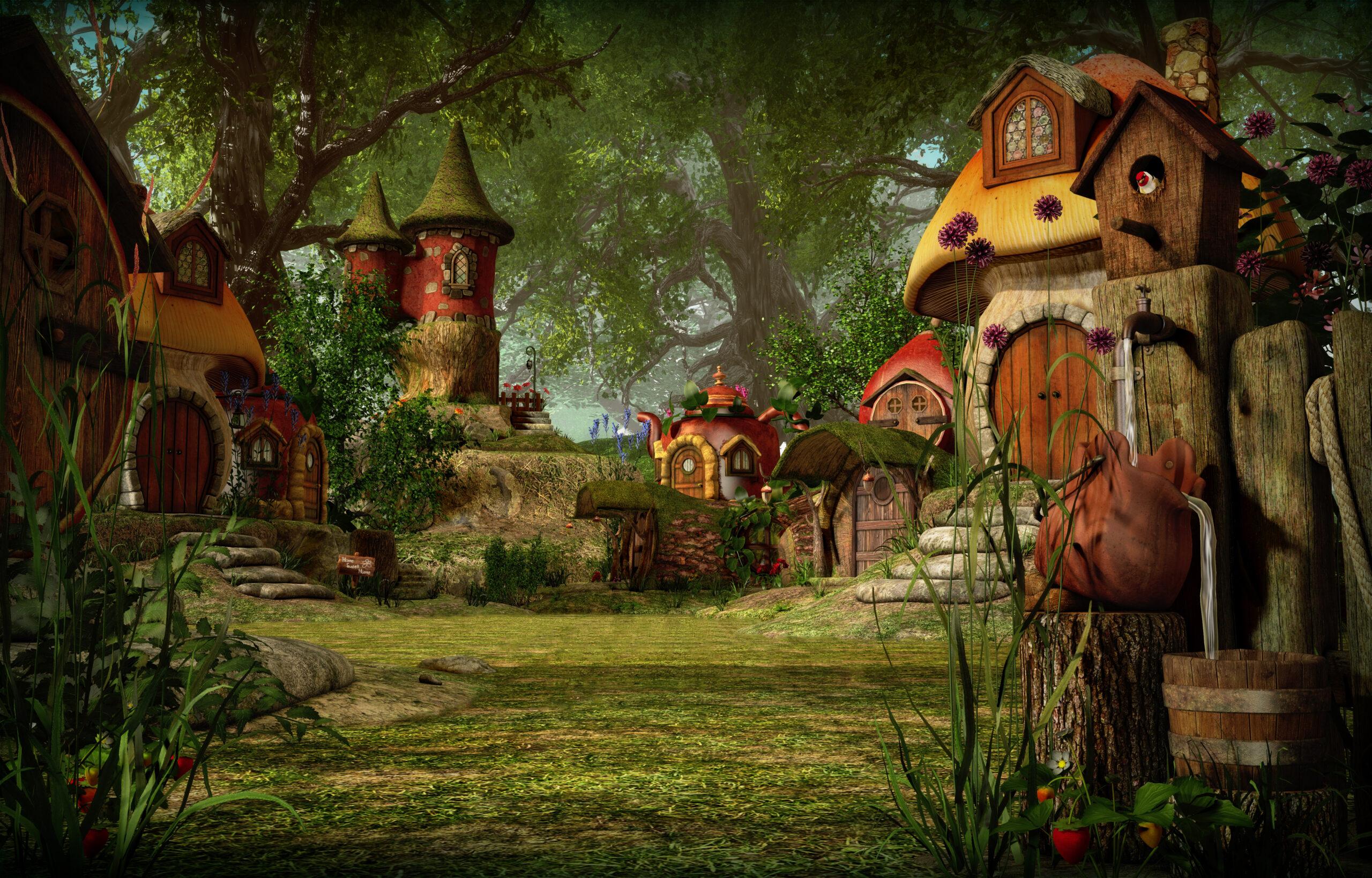 10 Flavorful Village Features