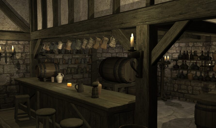 Weirdness of Fantasy Taverns