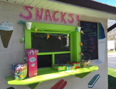 Maggie's Jungle Golf Snacks and Shaved Ice