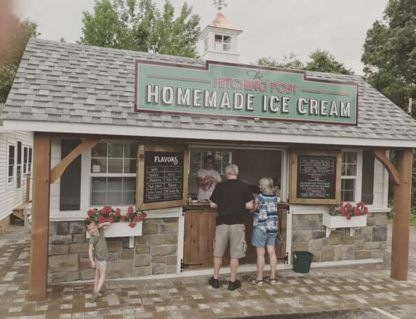 The Hitching Post and Country Store Ice Cream