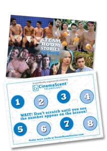 CinemaScent Scratch and Sniff Cards