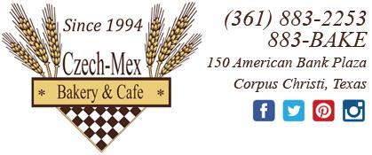 Czech-Mex Bakery & Cafe, Corpus Christi, Texas logo