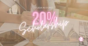 Studia in Sydney con Borsa di Studio