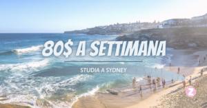 student visa studia a Sydney a soli 80$ a settimana