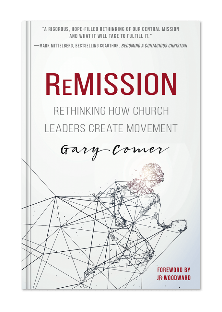 ReMission the book by Gary Comer
