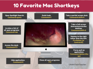 mac shortkeys