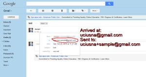 google plus address sasmple