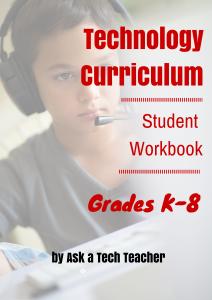 Tech Student Wkbk K-8