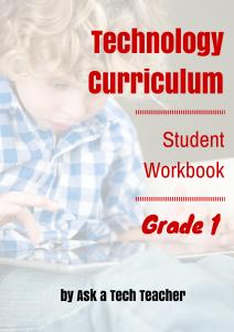 Tech Curriculum--1st grade