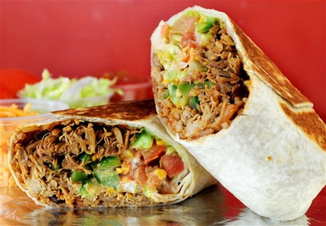Pulled Pork Burrito