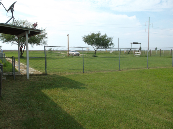 One of two outdoor soccer fields available at Atascosa.