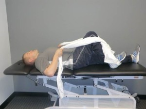 Heel slides 300x225 Pre Operative Exercises for Knee Surgery