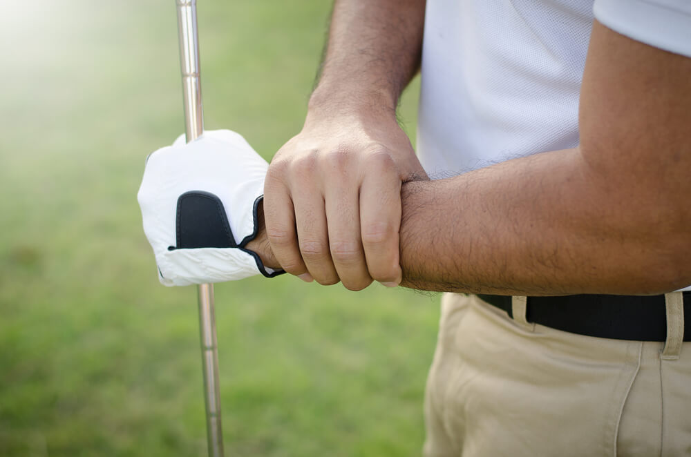 Outside of Left Wrist Pain From Golf