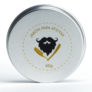 Artesanal beard soap – 60 gr (Jabón para afeitar)