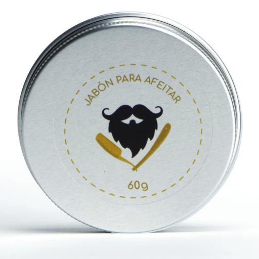 Artesanal beard soap - 60 gr (Jabón para afeitar)