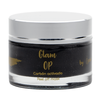 "Mascarilla Glam Op ""Carbón activado"" (peel-off mask)"