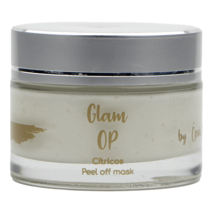 "Mascarilla Glam Op ""Cítricos y aguacate"" (peel-off mask)"