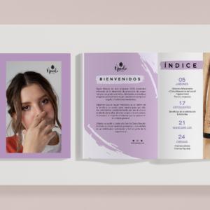 Catálogo físico para distribuidores
