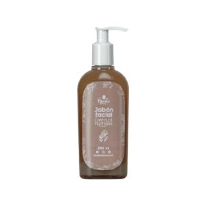 Jabón facial: limpieza profunda