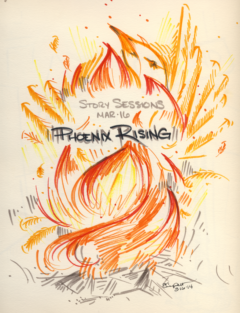 Phoenix Rising Illustrated