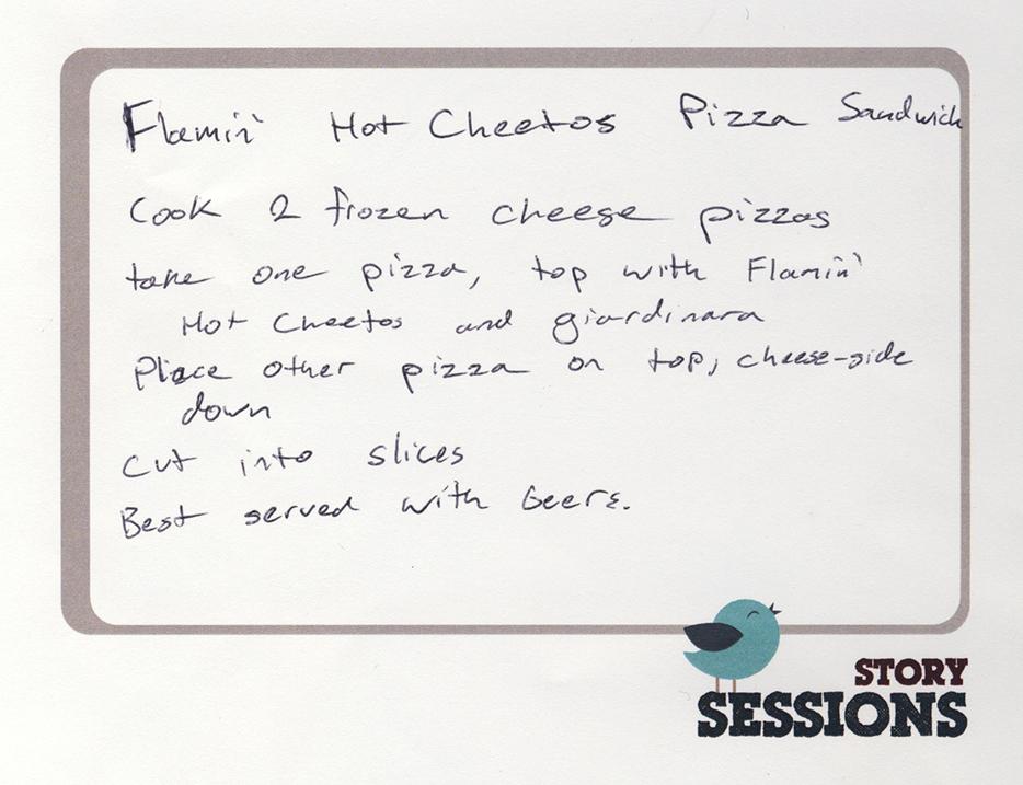 cheetos pizza