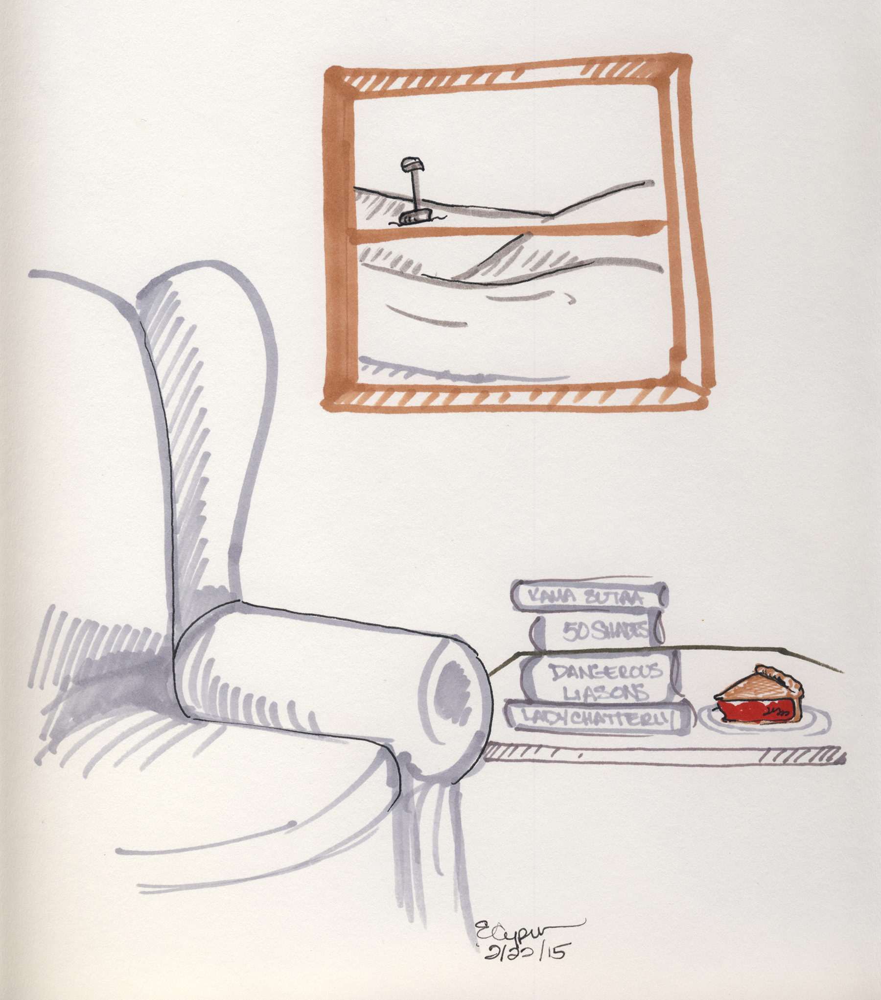 Tom illustrated