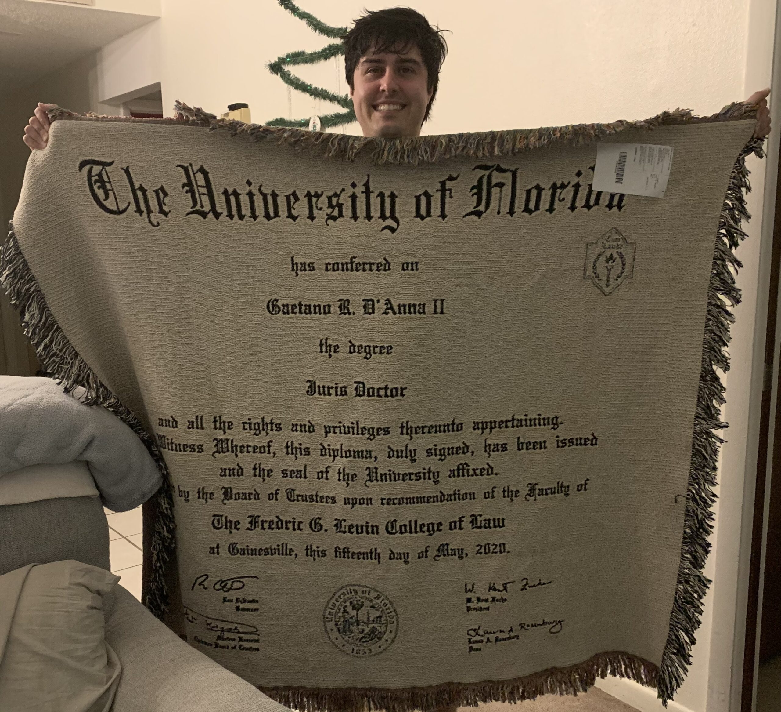Featured Image for UF Law Degree Keeps This New Lawyer Warm