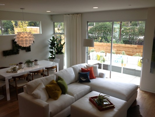 Living - Dining Rooms