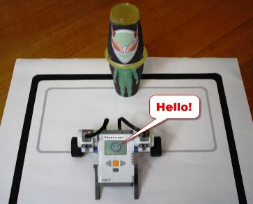 Fun With LEGO MindStorms NXT Robots.
