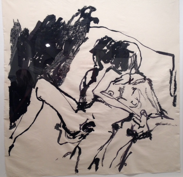 Tracey Emin embroidered calico