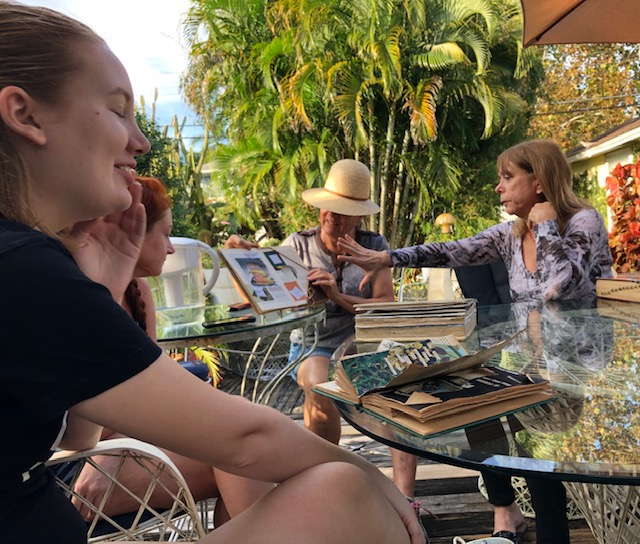 Fall Day-Long Altered Book Workshop at Rose Marie Prins' studio